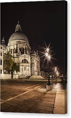 Venice Santa Maria Della Salute  Canvas Print