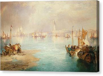 Venice Canvas Print by Thomas Moran