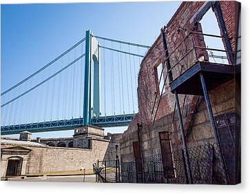 Verrazano-narrows Bridge Canvas Print