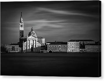 Canvas Print featuring the photograph View From San Marco by Andrew Soundarajan