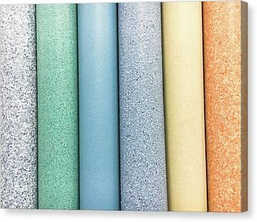 Lino Canvas Print - Vinyl Rolls by Tom Gowanlock
