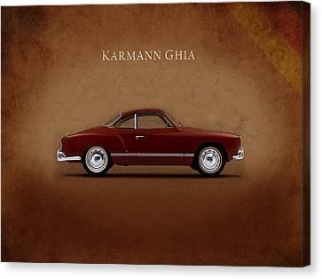 Vw Karmann Ghia Canvas Print