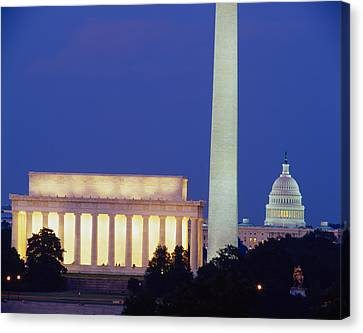 Democracy Canvas Print - Washington Dc by Panoramic Images