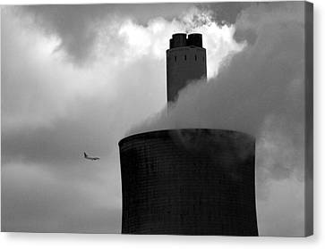 Canvas Print featuring the photograph Watch Out by Jez C Self