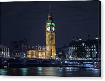 Westminster - London Canvas Print