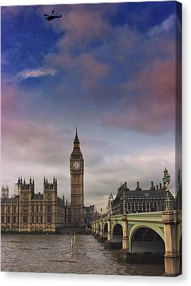 Westminster Canvas Print by Martin Newman