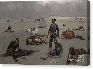 What An Unbranded Cow Has Cost Canvas Print
