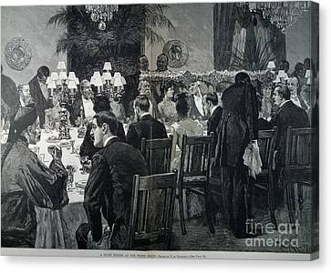 White House: State Dinner Canvas Print by Granger