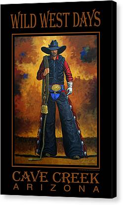 Wild West Days Poster/print  Canvas Print