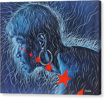 Wilma Canvas Print by Shahid Muqaddim