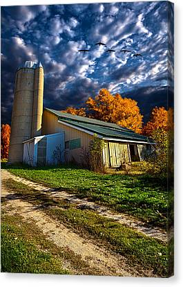Wisconsin Life Canvas Print by Phil Koch