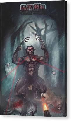 Wolverine A Wolf Canvas Print
