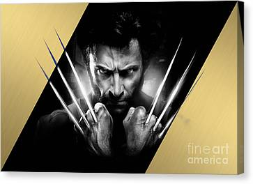 Wolverine Collection Canvas Print