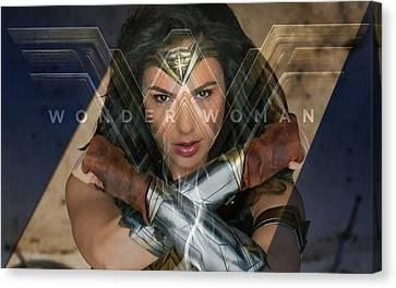 Wonder Woman Art Canvas Print