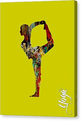 Inspiration Canvas Print - Yoga Collection by Marvin Blaine