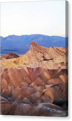 Canvas Print featuring the photograph Zabriskie Point by Catherine Lau