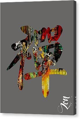 Zen Canvas Print by Marvin Blaine