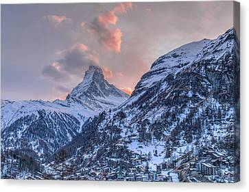 Zermatt - Switzerland Canvas Print by Joana Kruse