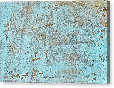 Blue Metal Canvas Print by Tom Gowanlock
