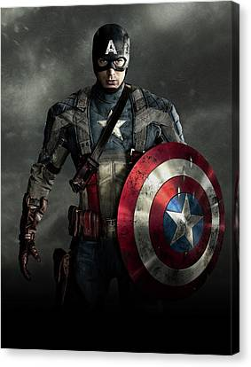 Captain America Civil War 2016 Canvas Print by Unknown