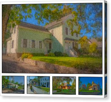 20 Lincoln Street, Easton, Ma Canvas Print