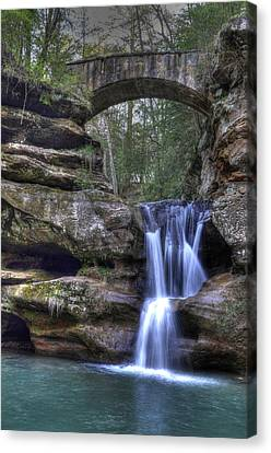 Old Man's Cave Canvas Print
