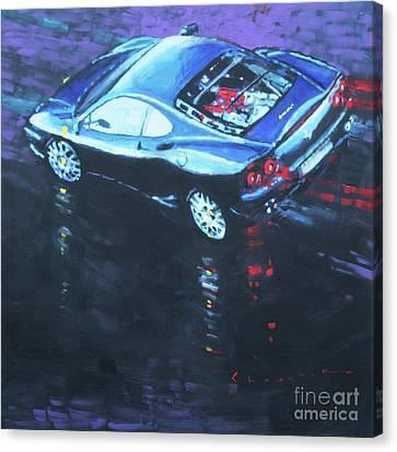 2003 Ferrari 360 Challenge Canvas Print