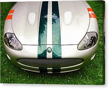 2005 Jaguar X K R Stirling Moss Signature Edition Canvas Print by Allen Beatty