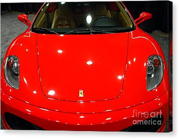 2006 Ferrari F430 Spider . 7d9383 Canvas Print by Wingsdomain Art and Photography
