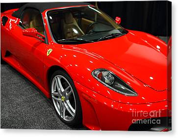 2006 Ferrari F430 Spider . 7d9385 Canvas Print by Wingsdomain Art and Photography