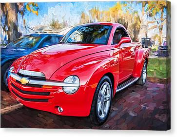 2006 Ssr Chevrolet Truck Painted  Canvas Print by Rich Franco