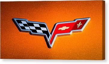 2007 Chevrolet Corvette Indy Pace Car -0301c Canvas Print by Jill Reger