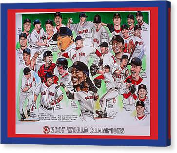 2007 World Series Champions Canvas Print by Dave Olsen