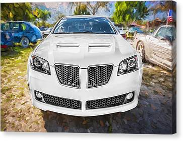 2008 Pontiac Gt8 Painted  Canvas Print by Rich Franco