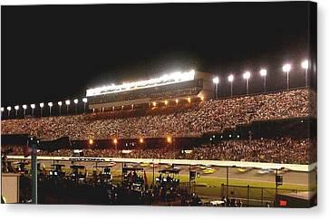 2009 Coke Zero 400 At Daytona International Speedway Canvas Print by Jamie Baldwin