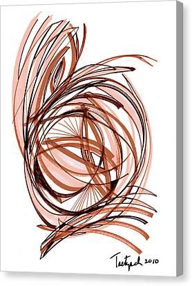 2010 Abstract Drawing Six Canvas Print