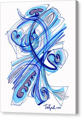2010 Drawing Four Canvas Print