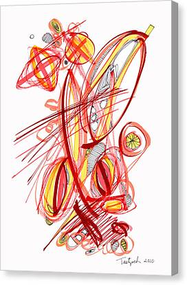2010 Drawing Two Canvas Print