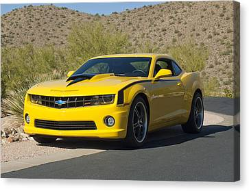 2010 Nickey Camaro Canvas Print