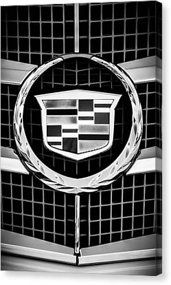 2011 Cadillac Cts Performance Collection -0584bw46 Canvas Print