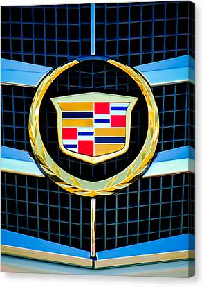 Ct Canvas Print - 2011 Cadillac Cts Performance Collection -0584c45 by Jill Reger