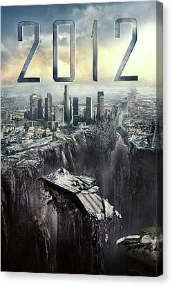 2012 Canvas Print - 2012 2009 by Caio Caldas