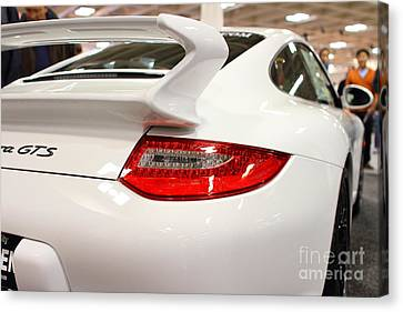 2012 Porsche 911 Carrera Gts . 7d9639 Canvas Print by Wingsdomain Art and Photography