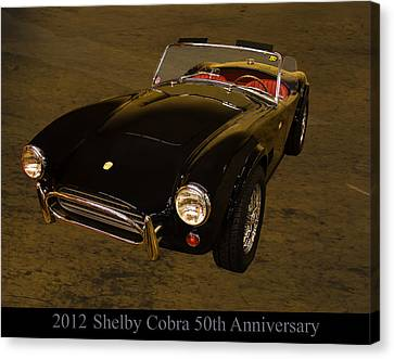 2012 Canvas Print - 2012 Shelby Cobra 50th Anniversary  by Chris Flees