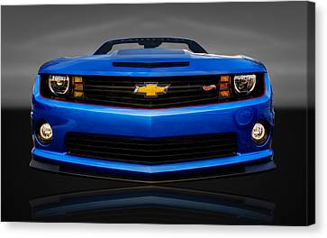 2013 Chevrolet Camaro Hot Wheels  - Cv Cam22 Canvas Print
