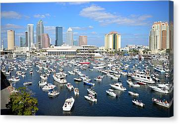 2013 Gasparilla Pirate Fest Canvas Print by David Lee Thompson