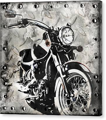 2013 Kawasaki Vulcan Canvas Print