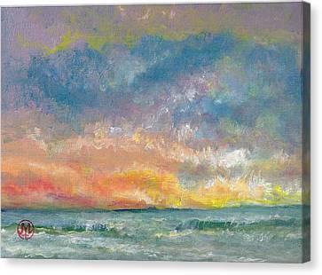 2014 Seascape Canvas Print