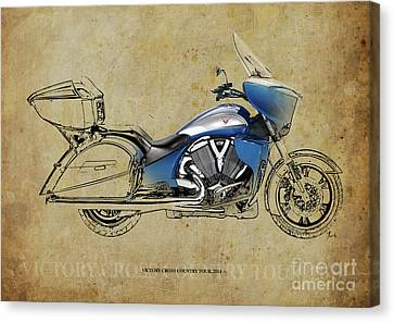 2014 Victory Cross Country Tour Christmas Gift Canvas Print by Pablo Franchi