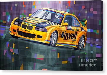 2015 Edda Cup Jested Bmw M3 E36 Liska Canvas Print by Yuriy Shevchuk